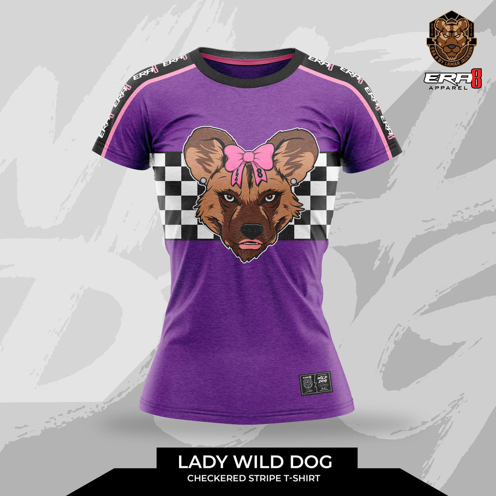 Lady Wild Dog Checkerboard (Shirt) Set Sold Separately