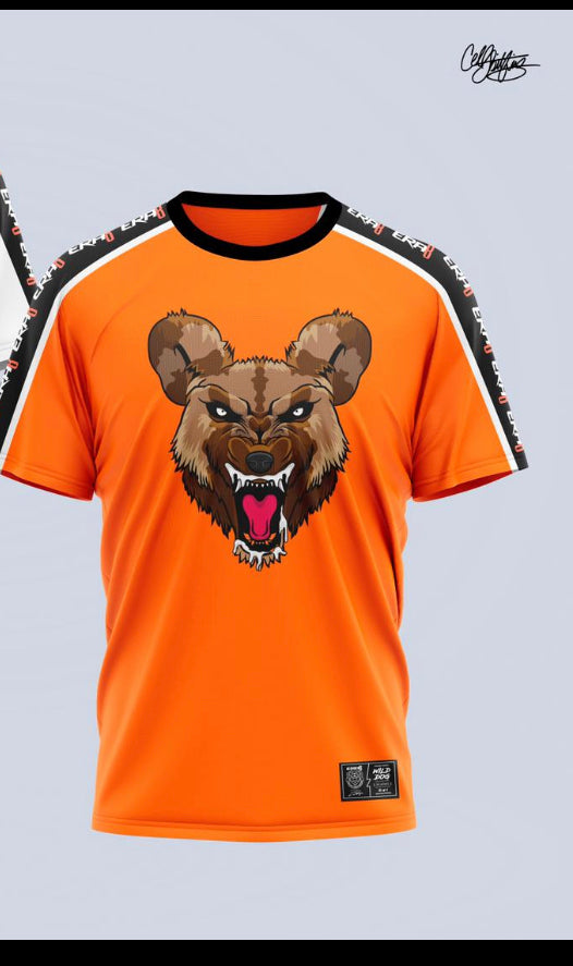 Wild Dog Stripe Shirt (Orange)