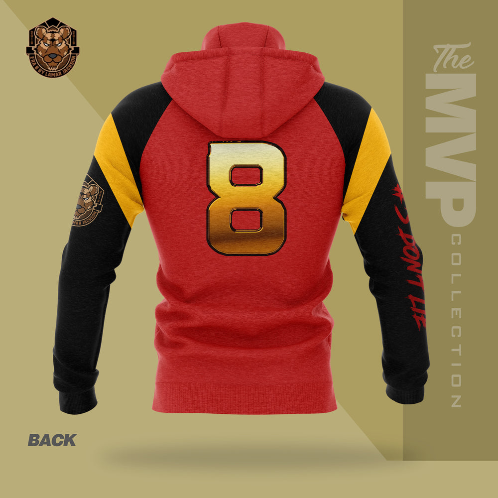 Limited Edition 2019 MVP Lamar Jackson Hoody (RED, GOLD, BLACK)