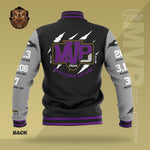 Limited Edition 2019 MVP Lamar Jackson Letterman Jacket (BLACK/GREY)