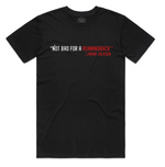 """Not Bad For A RUNNINGBACK"" Staple Tee (Black/Red)"