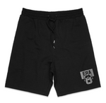 ERA 8 3M Silver - Men's Midweight Fleece Shorts (BLACK)