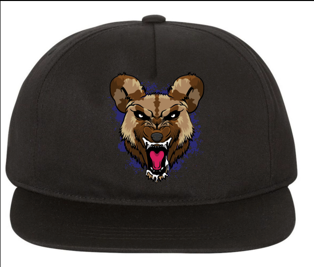 Wild Dog (PURPLE) Snapback Hat