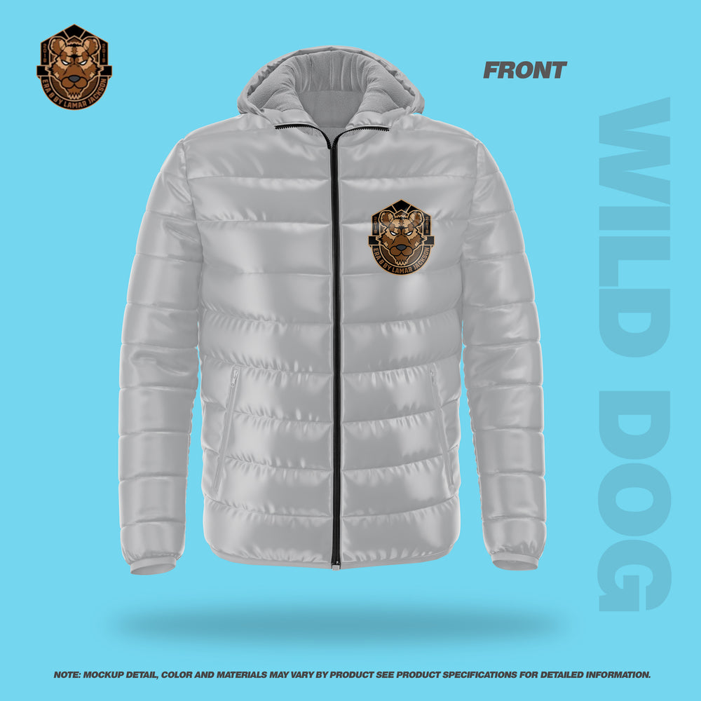 Wild Dog Bubble Jacket Soft (GREY)