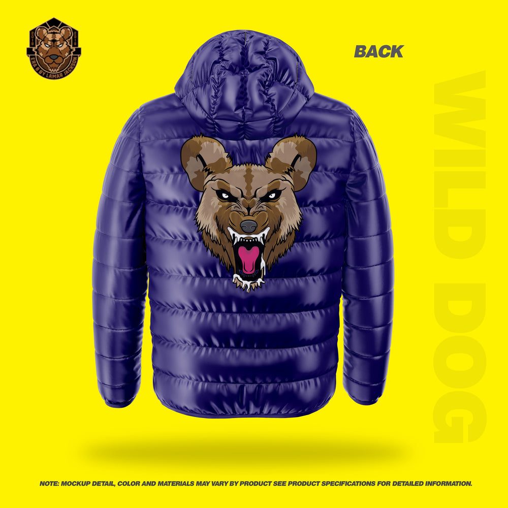 Wild Dog Bubble Jacket Hard (PURPLE)