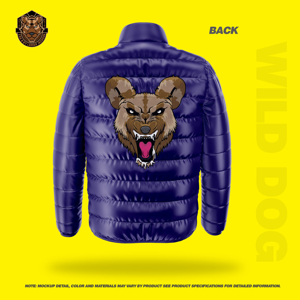 Wild Dog Bubble Jacket Soft (PURPLE)