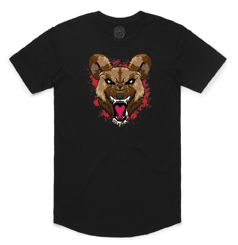 """WILD DOG"" MENS STATE TEE (BLACK)"