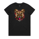 """WILD DOG"" YOUTH TEE (BLACK)"