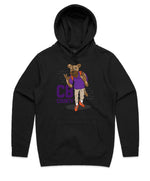 """CB GOON"" HOODED PULLOVER SWEATSHIRT (BLACK)"