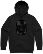 Limited Edition Hooded Pullover Sweatshirt - Wild 8