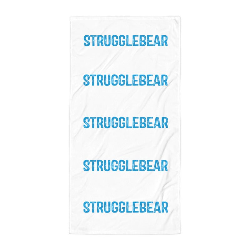 StruggleBear Beach Towel-StruggleBear