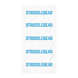 StruggleBear Beach Towel