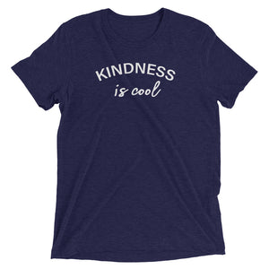 Women's Kindness Is Cool Short Sleeve T-Shirt-StruggleBear