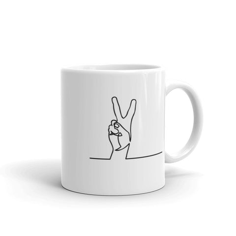 Image of Peace Mug-StruggleBear