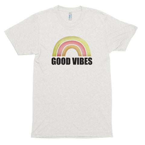 Men's Good Vibes Short Sleeve T-Shirt-StruggleBear