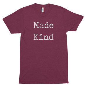 Men's Made Kind White Short Sleeve T-Shirt
