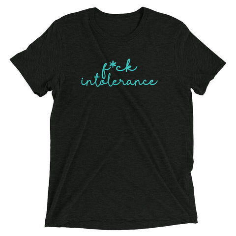 Image of f*ck Intolerance short sleeve t-shirt-StruggleBear