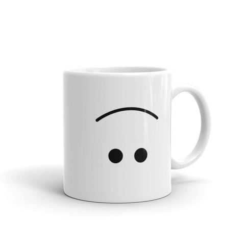 Upside Down Smile Mug-StruggleBear
