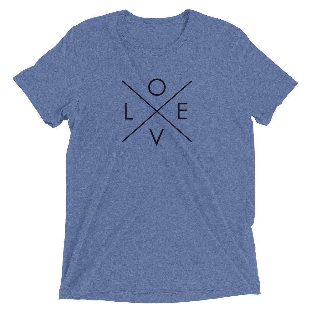Women's LOVE Short Sleeve T-Shirt-StruggleBear
