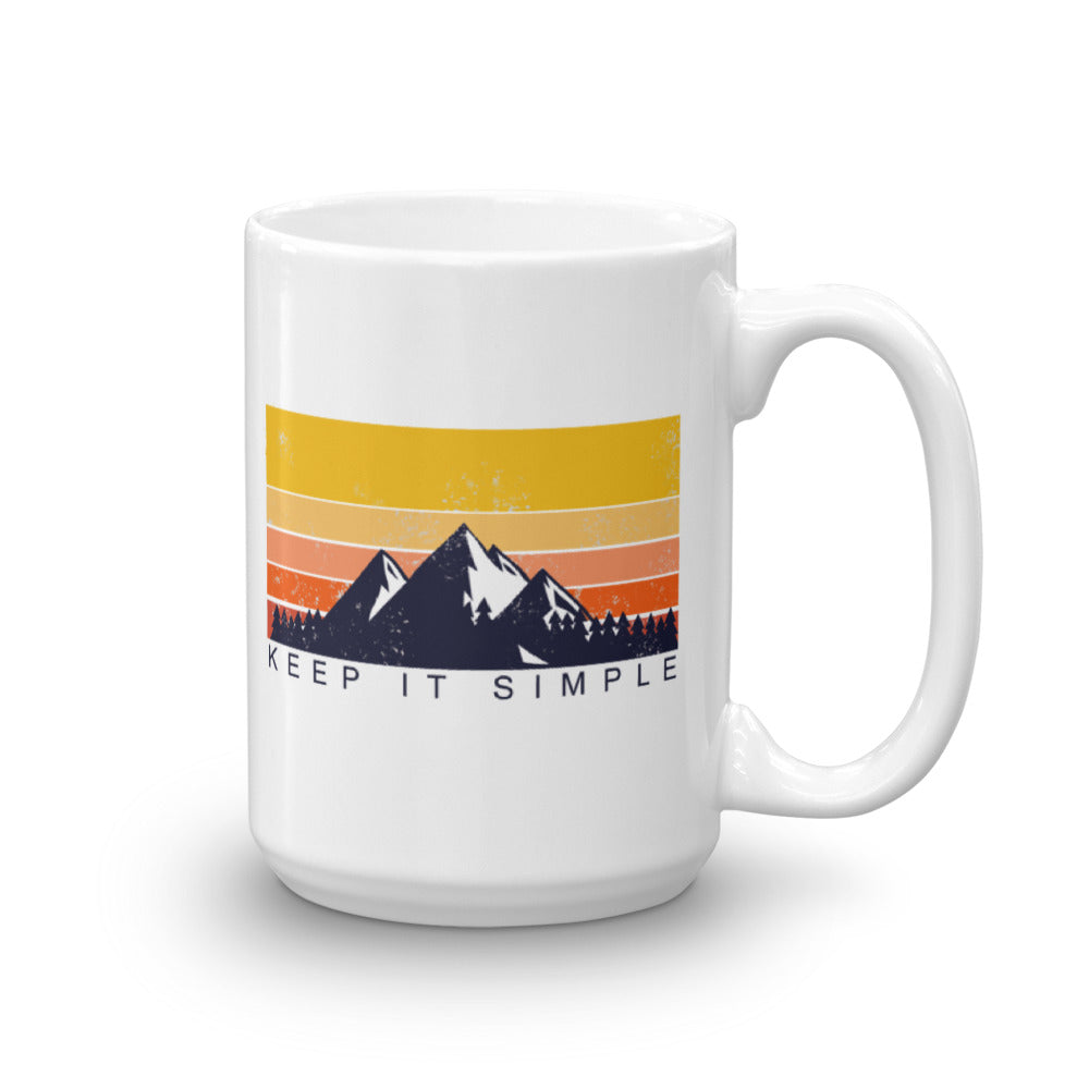 Keep It Simple Mug-StruggleBear