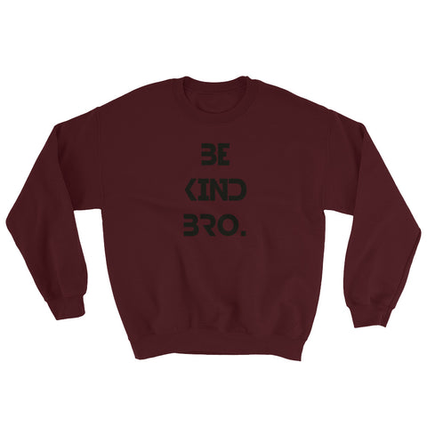 Be Kind Bro 2 Sweatshirt-StruggleBear