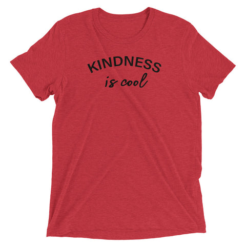 Image of Women's Kindness Is Cool Short Sleeve T-Shirt-StruggleBear