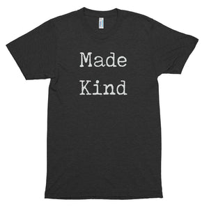 Men's Made Kind White Short Sleeve T-Shirt-StruggleBear