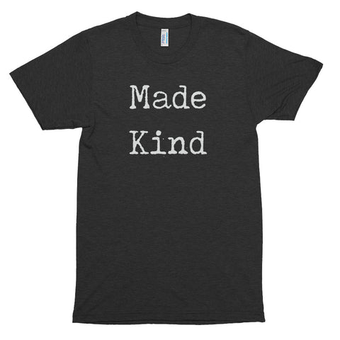 Image of Men's Made Kind White Short Sleeve T-Shirt-StruggleBear