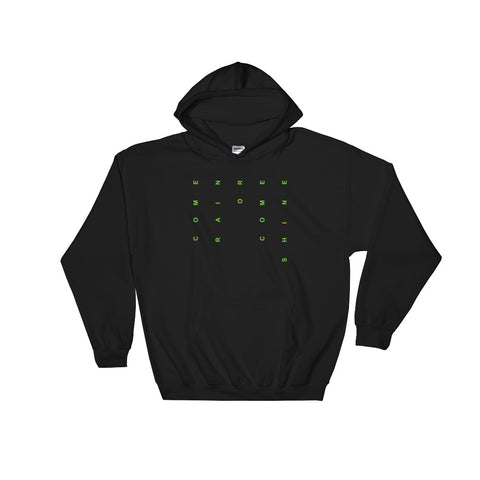 Image of Come Rain Or Come Shine Hooded Sweatshirt-StruggleBear