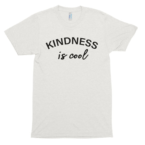 Men's Kindness Is Cool Short Sleeve T-Shirt-StruggleBear