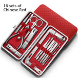 Manicure nail clipper set