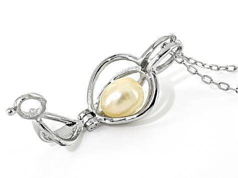 Jewelry - Make A Wish Necklace With A Surprise Pearl (100% Real Natural Pearls)