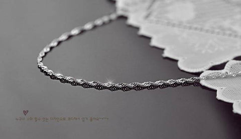 Jewelry - Silver Plated Chain