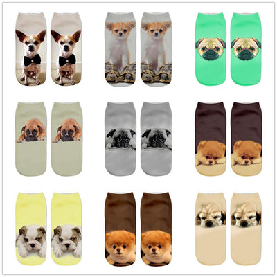 3D Printed Socks For Dog Lovers - Ohmyglad