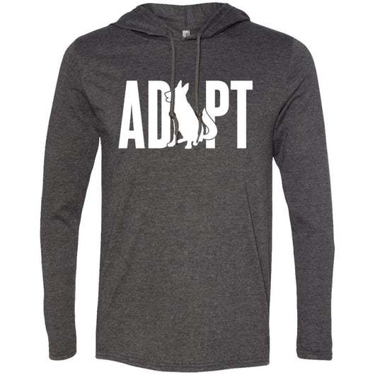 Adopt A Dog Hooded Shirt For Men - Ohmyglad
