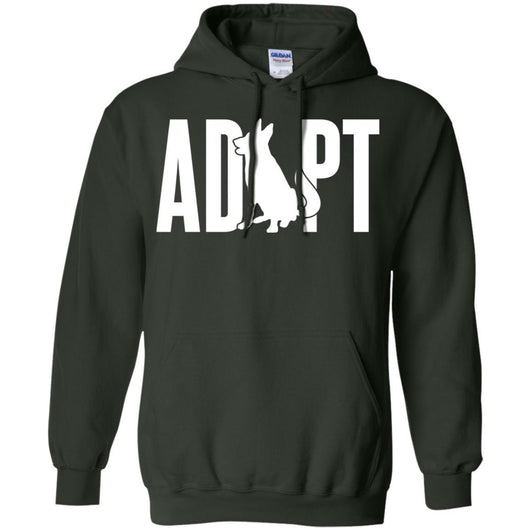 Adopt A Dog Pullover Hoodie For Men - Ohmyglad