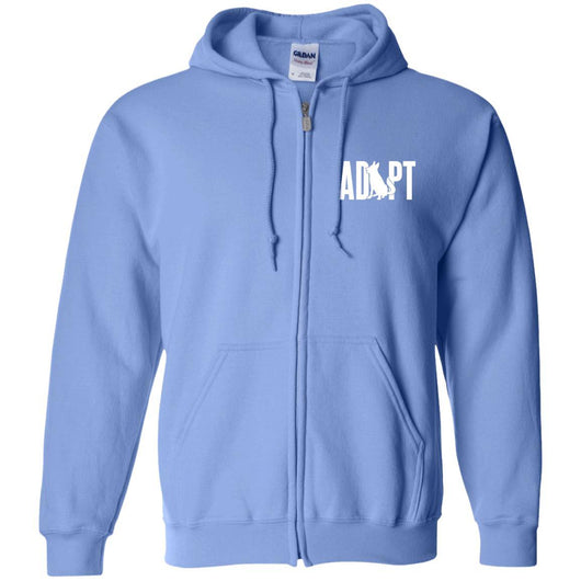 Adopt A Dog Zip Hoodie For Men - Ohmyglad