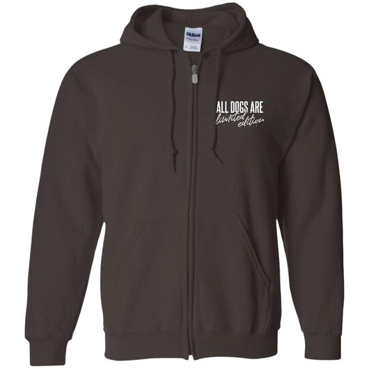 All Dogs Are Limited Edition Zip Hoodie For Men - Ohmyglad
