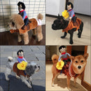 Cowboy Riding Dog Costume - Ohmyglad