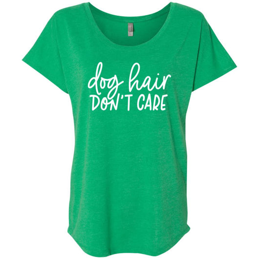 Dog Hair, Don't Care Slouchy T-Shirt For Women - Ohmyglad