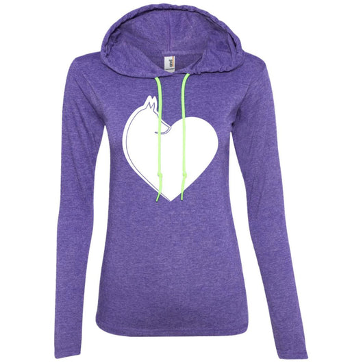 Dog Heart Hooded Shirt For Women - Ohmyglad