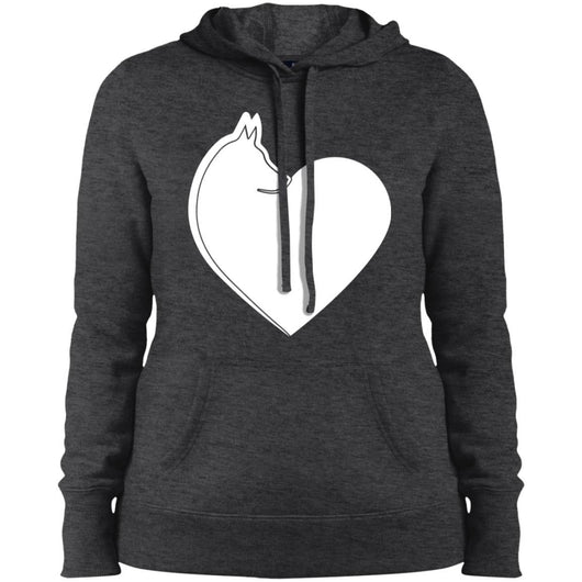 Dog Heart Hoodie For Women - Ohmyglad