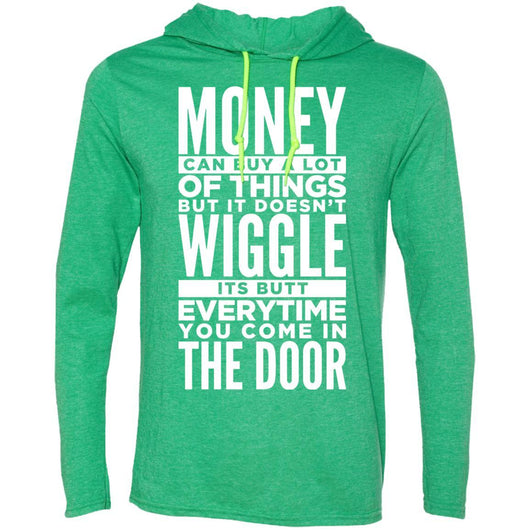 Dog Life Quote Hooded Shirt For Men - Ohmyglad