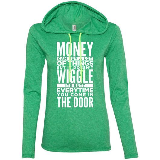 Dog Life Quote Hooded Shirt For Women - Ohmyglad