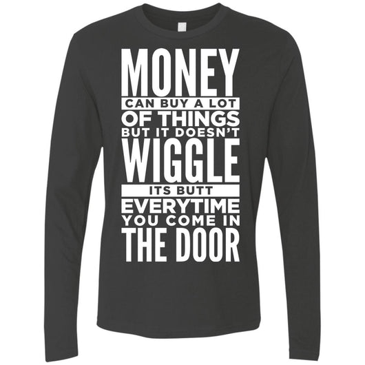Dog Life Quote Long Sleeve Shirt For Men - Ohmyglad