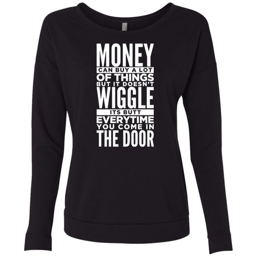 Dog Life Quote Sweatshirt For Women - Ohmyglad