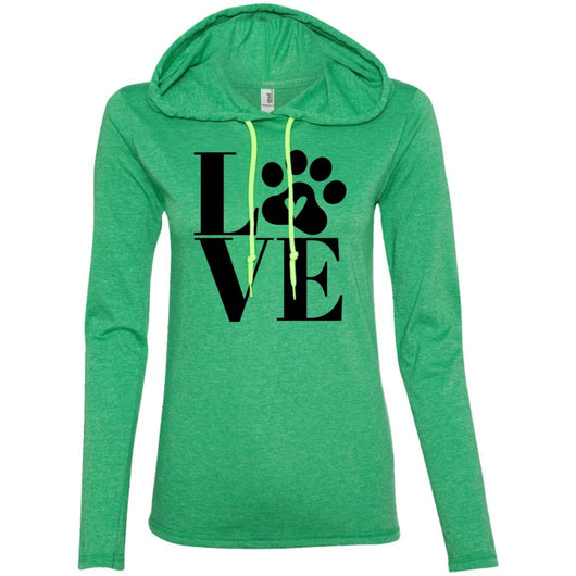 Dog Love Hooded Shirt For Women - Ohmyglad