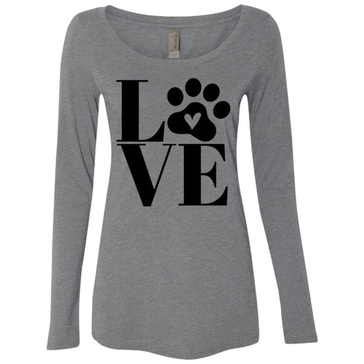 Dog Love Long Sleeve Shirt For Women - Ohmyglad