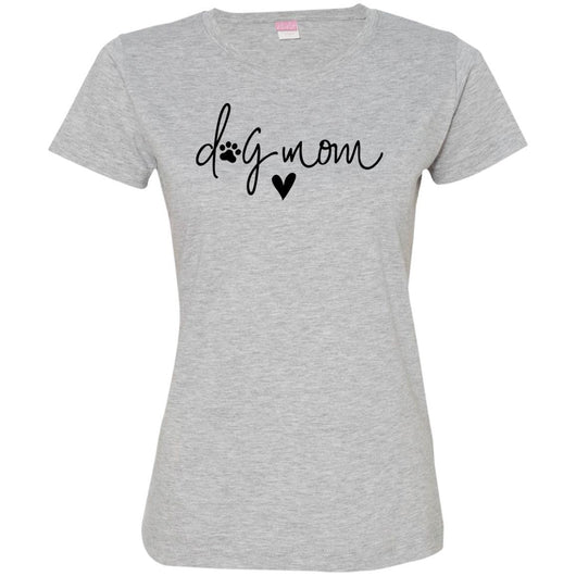 Dog Mom Fitted T-Shirt For Women - Ohmyglad