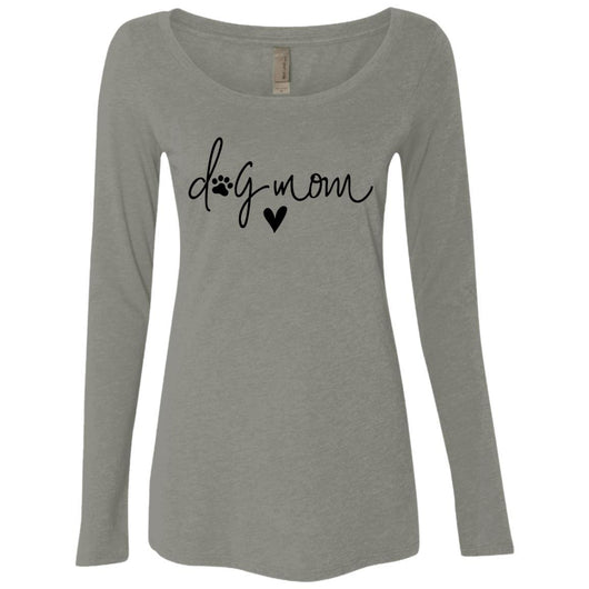 Dog Mom Long Sleeve Shirt For Women - Ohmyglad